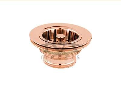 Válvula para pia cozinha em liga de cobre