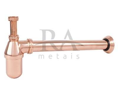 Sifão lavatório em liga de cobre