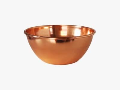 Cachepot/ Vaso/ Floreira em cobre puro  - laqueado