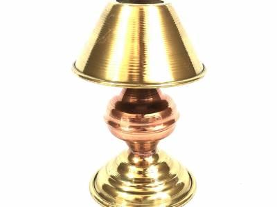 Abajur miniatura cobre