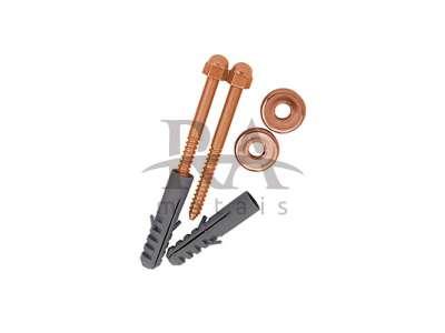 Parafuso de fixação bucha 10mm em liga de cobre