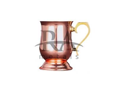 Caneca Moscow Mule Imperial em Cobre Puro 330 ml Laqueado