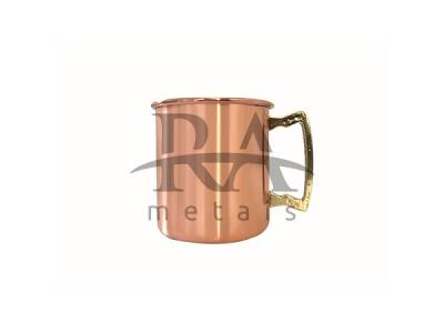 Caneca Moscow Mule 350 ml laqueada