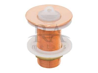 Válvula para cuba em liga de cobre
