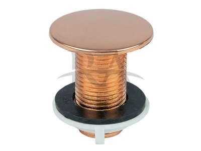 Acabamento para lavatório em liga de cobre