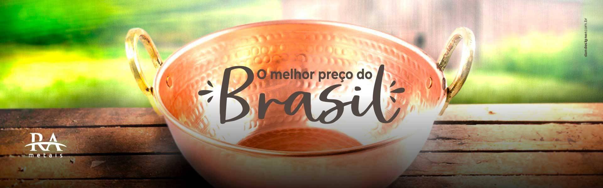O melhor preço do Brasil